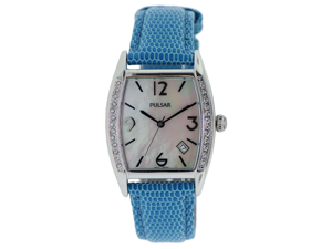 Pulsar Leather Ladies Watch PXD989CS
