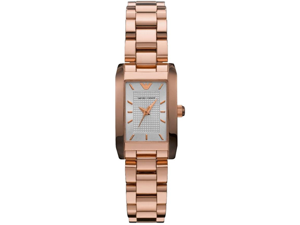 Emporio Armani Rose Gold Ladies Watch AR0361