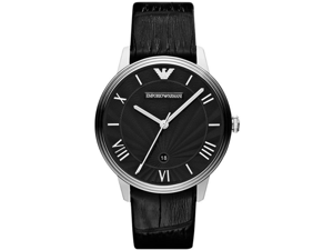 Emporio Armani Classic Leather Mens Watch AR1611