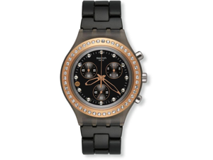 Swatch Full Blooded Stoneheart Black Unisex Watch SVCM4008AG