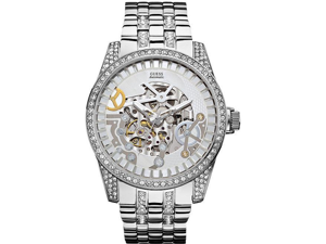 GUESS Automatic Stainless Steel Mens Watch U0012G1