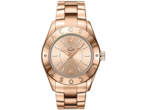 Lacoste Biarritz Rose Gold Ion Ladies Watch 2000754