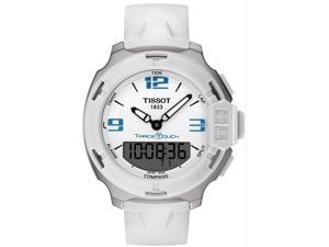 Tissot T-Race Touch White Analog-Digital Dial Mens Watch T0814201701701