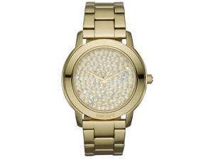 DKNY Gold-Tone Crystal Dial Ladies Watch NY8437