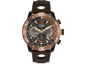 Citizen Eco-Drive Primo Stingray Leather Mens Watch CA4088-00E