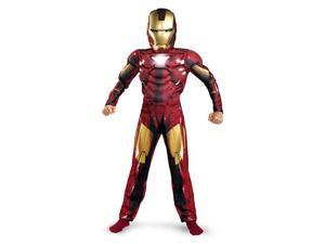 Iron Man 2 Mark VI Classic Muscle Chest Costume Child Medium