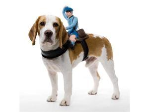 Dog Rider Doggie Costume Mailman One Size