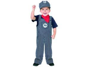 Train Engineer Toddler Costume 24 Months - 2T