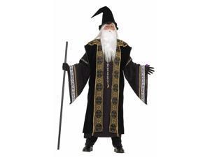 Designer Deluxe Wizard Costume Adult Small