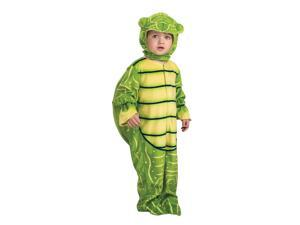 Green Turtle Jumpsuit Costume Child Toddler 2T-4T
