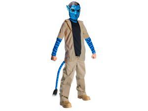 Avatar Jake Sully Costume Child Large
