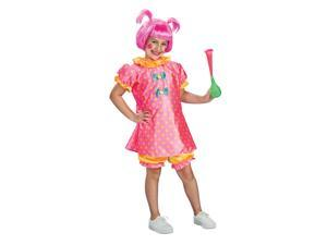 Baby Doll Clown Dress Costume Child Medium