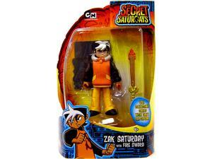 Secret Saturdays Figure Zak Saturday With Fire Sword