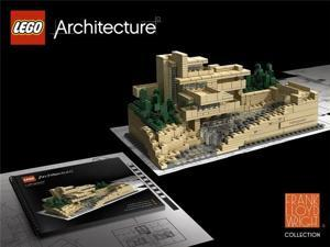 Lego Architecture Series Frank Lloyd Wright Fallingwater Set 21005