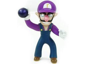 "Super Mario Brothers Waluigi Pvc 5"" Figure"