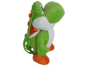 Super Mario Brothers Nintendo Plush Backpack Yoshi