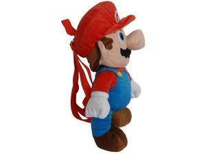 Super Mario Brothers Nintendo Plush Backpack Mario