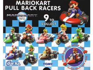 Super Mario Brothers Mario Kart Pull Back Racers Single Random Gachaball