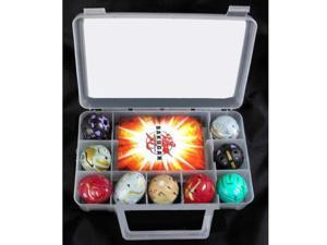 Bakugan Battle Brawlers Case 9 Figures & 8 Cards
