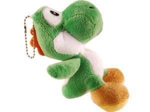 "Super Mario Bros 4"" Yoshi Plush Keychain"