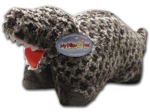 "My Pillow Pets Large 18"" Square Pillow Dinosaur T-Rex"