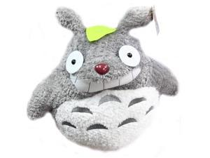"""My Neighbor Totoro 22"""" Plush Showing Teeth With Red Nose"""