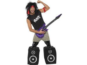 Midget Rocker Standing on Speakers Costume Adult Medium