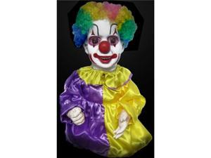 Halloween Horror Scary Table Tot Clown Animatronic Prop