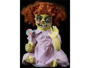 Halloween Horror Scary Table Tot Iris Girl Animatronic Prop