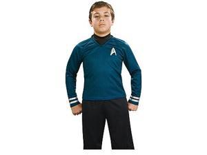 Star Trek Movie Deluxe Spock Blue Shirt Costume Child