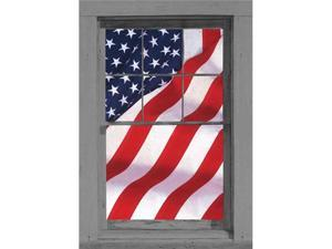 United States Of America Flag Full Size Window Sticker