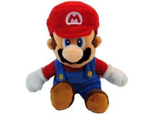 """Super Mario Bros. Nintendo Wii 6"""" Plush Mario Plush"""