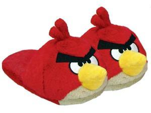 Angry Birds Plush Slippers: Red Bird Medium