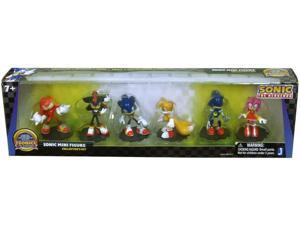 "Sonic 20th Anniversary Modern 2"" Mini Figure Pack Of 6"