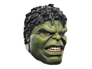 The Avengers Incredible Hulk Deluxe Latex Costume Mask Adult