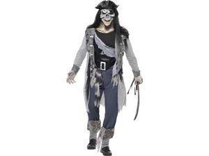 Haunted Swashbuckler Pirate Adult Costume