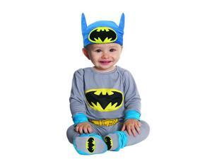 Batman Grey & Blue Bodysuit Costume Infant