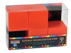 Tetris Double Highlighter Pen