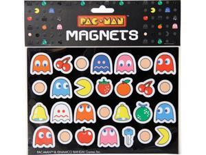 Pac-Man Fridge Magnets Set Of 28