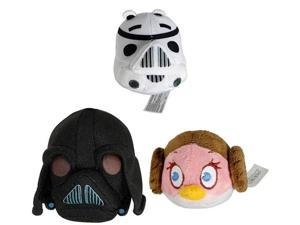 "Angry Birds Star Wars 12"" Plush: Set Of 3"