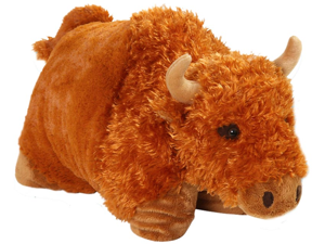 "My Pillow Pets Premium 18"" Plush Pillow Buffalo Billy"