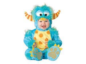 Lil Blue Monster Jumpsuit Costume Toddler