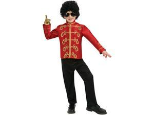 Michael Jackson Red Military Jacket Child
