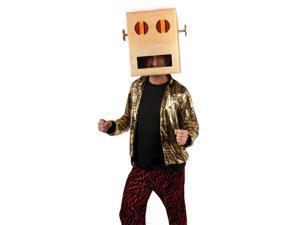 LMFAO Robot Pete LED Light Up Costume Head Headpiece Adult: One Size
