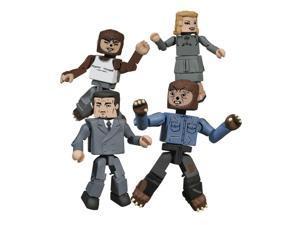 Universal Monsters Minimates Wolfman Box Set