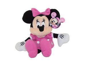 "Disney Minnie Mouse Pink Dress 9"" Plush"