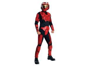 Halo Deluxe Red Spartan Jumpsuit Costume Adult: X-Small 32-34