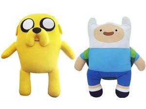 """Adventure Time 22"""" Deluxe Plush Set Of 2"""