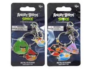 Angry Birds Space Metal Keychain Set Of 2