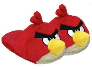Angry Birds Plush Slippers: Red Bird Adult Medium